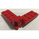 LEGO Red Hinge Plate 2 x 4 with Articulated Joint Assembly