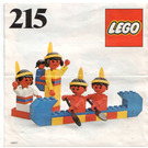 LEGO Red Indians Set 215-1 Instructions
