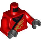 LEGO Red Kai Minifig Torso (76382)