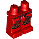 LEGO Red Kai with Scabbard Minifigure Hips and Legs (19368)