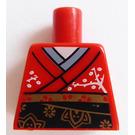 LEGO rouge Kimono Girl Torso without Arms