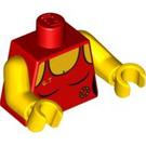 LEGO Red Lifeguard Torso (88585)