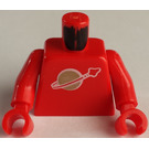 LEGO Red Minifig Classic Space Torso