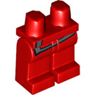 LEGO Red Minifigure Hips and Legs with Decoration (99346)