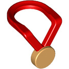 LEGO Red Minifigure Medal (10099)