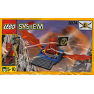 LEGO Red Ninja's Dragon Glider Set 3074