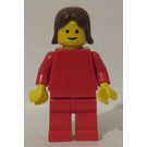 LEGO Red Outfit Lady Minifigure