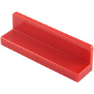 LEGO Red Panel 1 x 4 x 1 with Rounded Corners (15207 / 30413)