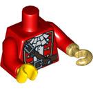 LEGO Red Pirate Captain Torso (10895)