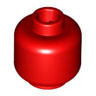 LEGO Red Plain Head (Safety Stud) (3626 / 88475)