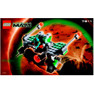 LEGO Red Planet Cruiser Set 7311 Instructions