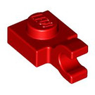 LEGO Plate 1 x 1 with Horizontal Clip (Thick Open 'O' Clip) (61252)
