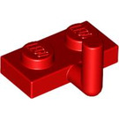 LEGO Red Plate 1 x 2 with Hook (5mm Horizontal Arm) (43876 / 88072)