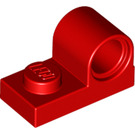 LEGO Red Plate 1 x 2 with Pin Hole (11458)