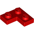 LEGO Red Plate 2 x 2 Corner (2420)