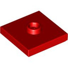 LEGO Red Plate 2 x 2 with Groove and 1 Center Stud (23893 / 87580)