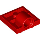 LEGO Red Plate 2 x 2 with Hole with Underneath Cross Support (10247)
