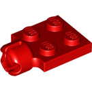 LEGO Plate 2 x 2 with Towball Socket With 4 Slots (3730)