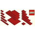 LEGO Red Plates Parts Pack Set 820-1
