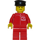 LEGO Red Post Office Worker Minifigure
