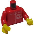 LEGO Red PostmanTorso