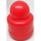 LEGO Red Primo 1 x 1 round without Rattle (49272)