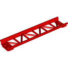 LEGO Red Rail 2 x 16 with 3.2 Shaft (25059)