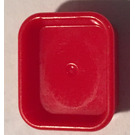 LEGO Red Rectangle Dish (93082)