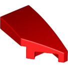 LEGO Red Right Plate 1 x 2 with Bow 45° Cut (29119)