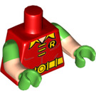 LEGO Red Robin - Laughing Minifig Torso (16360)