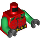 LEGO Red Robin Minifig Torso (76382)