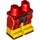 LEGO Red Roman Soldier Minifigure Hips with Yellow Legs (99691)