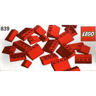 LEGO Red Roof Bricks Parts Pack, 33° Set 839