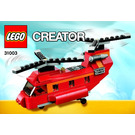 LEGO Red Rotors Set 31003 Instructions