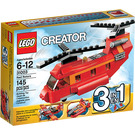 LEGO Red Rotors Set 31003 Packaging