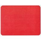 LEGO rouge Rounded Corner Baseplate 24 x 32 (10)