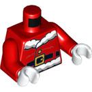 LEGO Red Santa with Glasses 2017 Minifig Torso (76382)