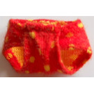 LEGO Red Scala Clothing Baby Pants with Decoration