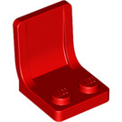 LEGO Red Seat 2 x 2 without Sprue Mark in Seat (4079)