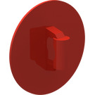 LEGO Red Shield Round and Rounded Front (75902)