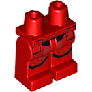 LEGO Red Sith Trooper Minifigure Hips and Legs (64854)