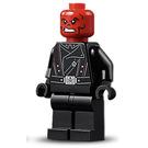 LEGO Red Skull with Black Belt Minifigure