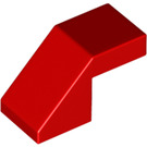 LEGO Red Slope 1 x 2 (45°) (28192)
