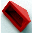 LEGO Red Slope 1 x 2 (45°) Triple with Hollow Bottom (3048)
