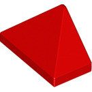 LEGO Red Slope 1 x 2 (45°) Triple with Inside Stud Holder (15571)