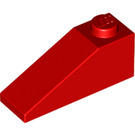 LEGO Red Slope 1 x 3 (25°) (4286)