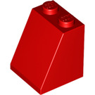 LEGO Red Slope 2 x 2 x 2 (65°) with Stud Holder (3678)
