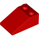 LEGO Red Slope 2 x 3 (25°) with Rough Surface (3298)