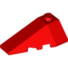 LEGO Red Slope 2 x 4 Triple Left (43710)