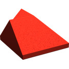 LEGO Red Slope 45° 2 x 2 Double Concave / Double Convex